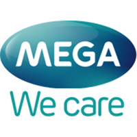 mega we care logo