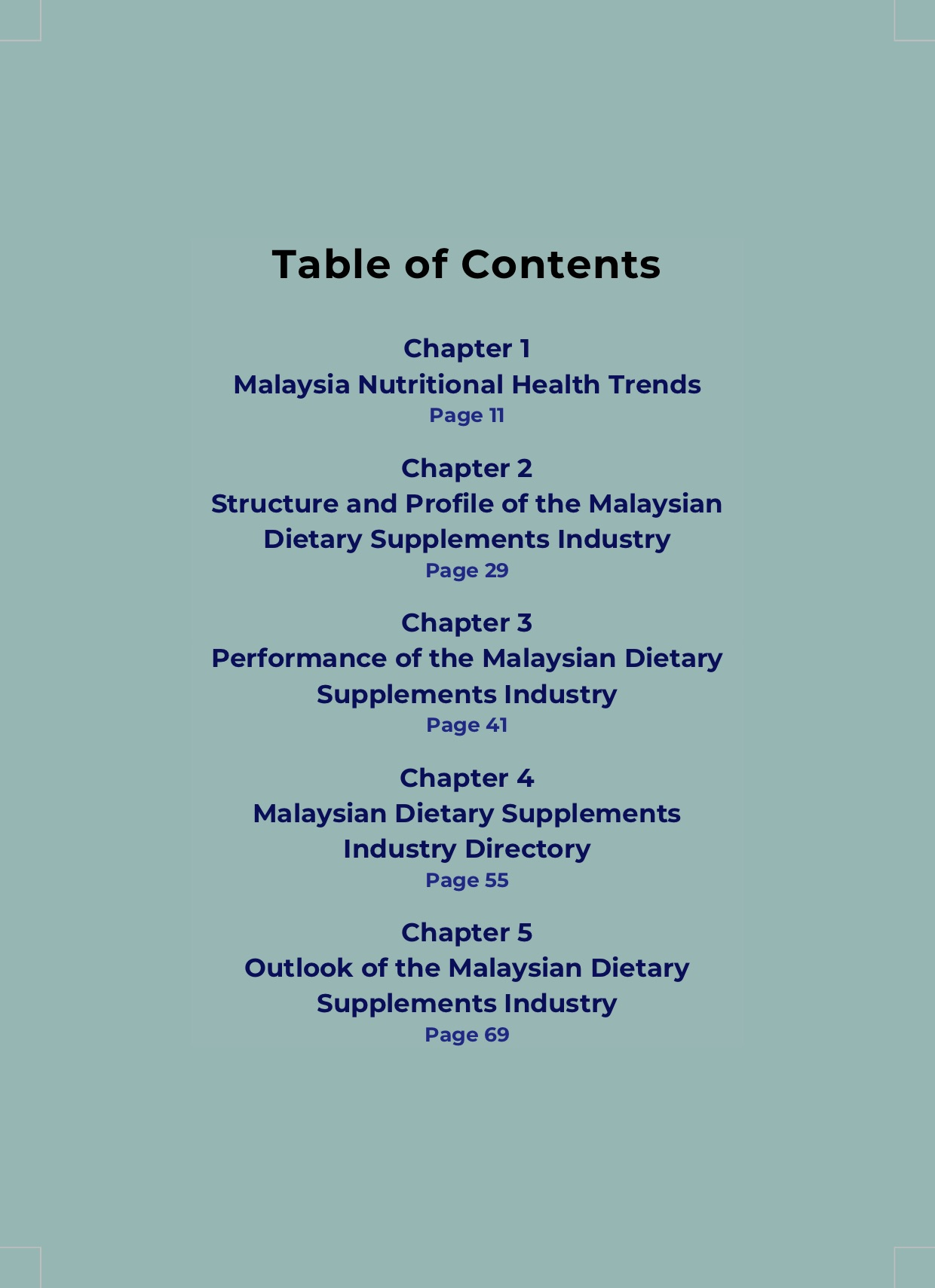 malaysian dietary supplements industry status outlook report 2019-2020